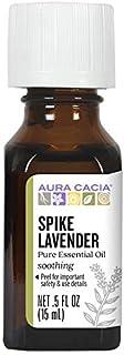 Aura Cacia Lavender (Spike), Essential Oil, 0.5-Ounce Bottle