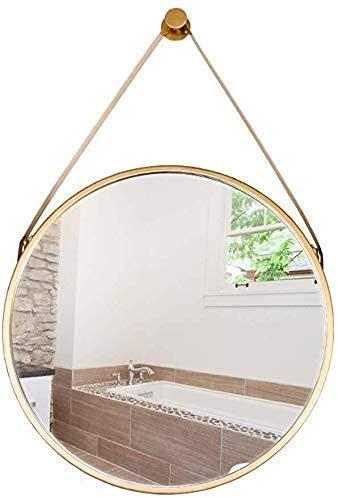 Espejo de Maquillaje multifunción Espejo Colgante Redondo Espejo de baño de Pared   Circle Espejo de Afeitar y Maquillaje de tocador montado