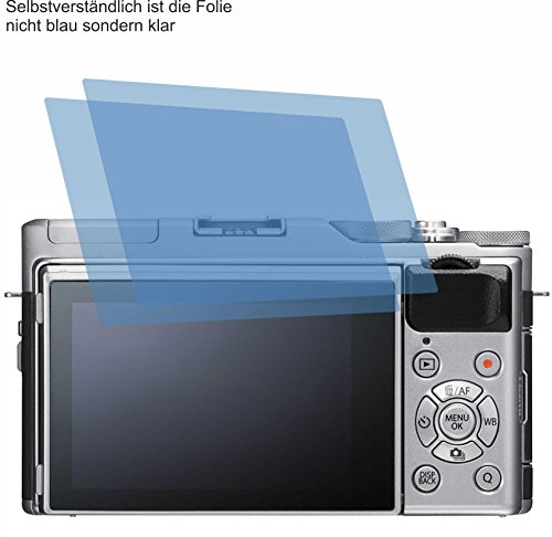 4ProTec I 2X ANTIREFLEX matt Schutzfolie für FujiFilm X-A5 Bildschirmschutzfolie Displayschutzfolie Schutzhülle Bildschirmschutz Bildschirmfolie Folie