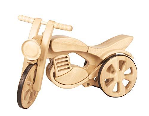 cama24com Laufrad aus Holz Kinderlaufrad Dreirad Motorrad Sport von Kandu mit Palandi® Sticker