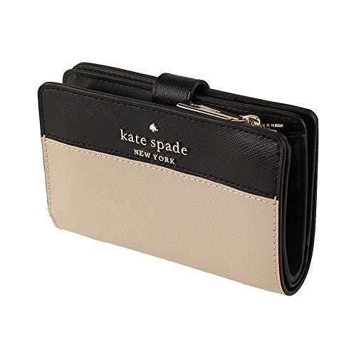 Kate Spade New York staci colorblock medium compact bifold wallet