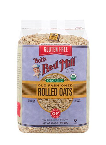 Bob's Red Mill Gluten Free Organic Old Fashioned Rolled Oats, 32 Ounce