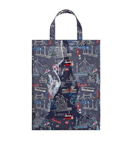 harrods 5204941 Medium SW1 All Over Print Shopper Bag