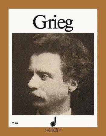 Edvard Grieg: Ausgewählte Werke für Klavier mit Bleistift -- Auswahlband mit den schönsten und berühmtesten Originalkompositionen (Schott Piano Collection) (Noten/sheet music)