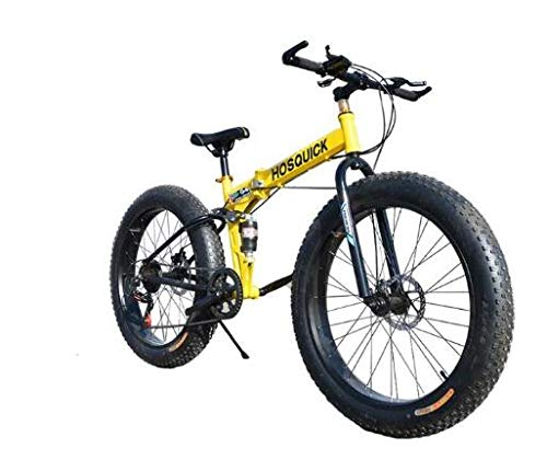 Mdsfe Bicicleta de montaña 7/21/24/27/30 Bicicletas de Velocidad Frenos de Doble Disco Bicicletas de Carretera de Velocidad Variable Carreras Bicicleta Bicicleta Plegable - B, 20 Pulgadas, 30