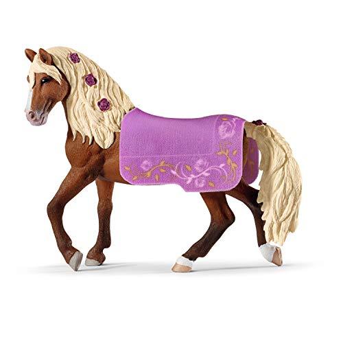 Schleich 42468 Horse Club play set - espectáculo de caballos de Paso Fino, juguetes a partir de 5 años