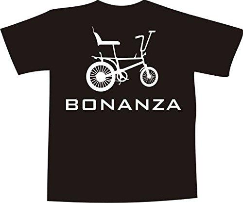 T-Shirt t030 BONANZARAD schwarz Bedruckt NEU L - Brustaufdruck