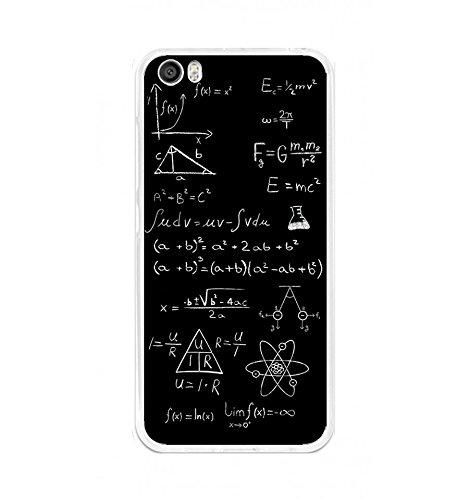 Tumundosmartphone Funda Gel TPU para XIAOMI MI5 / Mi5 Pro diseño Formulas Dibujos