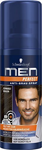 Men Perfect Anti-Grau-Spray Schwarzbraun, 100 ml
