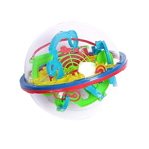 1pc 100 Step 3D-Puzzle-Kugel-magische Intelligenz Kugel Labyrinth Kugel Kugel Spielzeug 3D Jigsaw Intelligenz Kugel-magische Kugel Puzzle-Kind-Geschenk