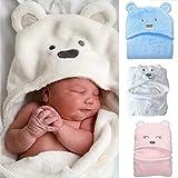 Jinxuny Suave y confortable bebé con capucha capucha de empañar...