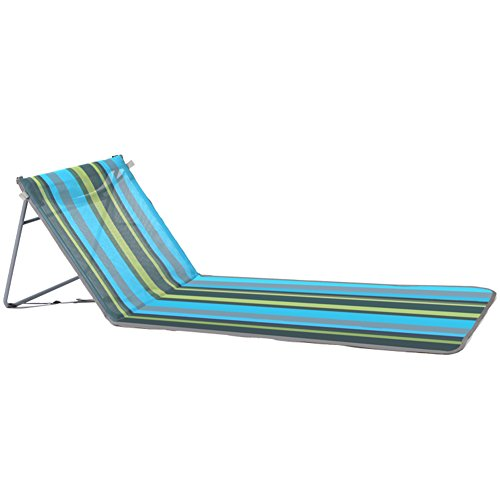 Wgwioo Beach Chairs With Backrest,Use Also As Picnic Or Park Chair