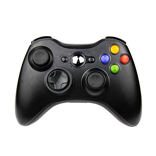 JAMSWALL Xbox 360 Controller per Xbox 360 Slim Wireless Controller di Gioco per PC Windows di Microsoft Xbox 360 Wireless Controller 7 XP Whit Joypad per Windows Bluetooth.