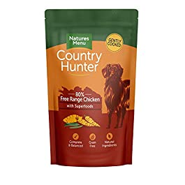 Natures Menu Country Hunter Dog Food – Chicken – single 150g pouch