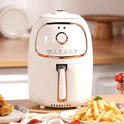 DOUBEI Freidora de Aire 2L Mini Fryer Hogar Sin Aceite Freidora eléctrica Automática Máquina de Papas Fritas multifunción