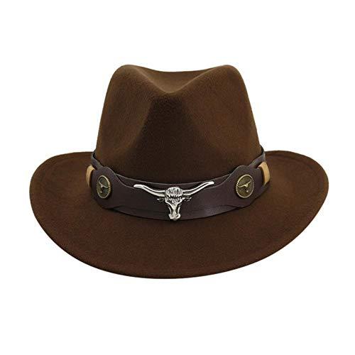 liqun Gewebter Cowboyhut Für Männer Und Frauen Klassischer Cattleman-Outdoor-Hut Mode Solide Unisex-Schädelkappe Sport-Multifunktionskappen, As Show, China