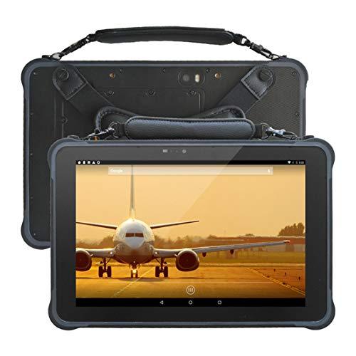 LLC- POWER Android 7,0 Tablette PC Robuste, 10,1 Pouces avec MTK6735 Cortex A53 Quad Core 1.3 GHz CPU 3 Go de RAM + 32 Go de ROM GPS IP67 entièrement étanche pour Le Travail Mobile d'entreprise