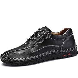 Buying Guide Menn h?ndsting Vintage Microfiber Leather  Men Hand Stitching Vintage Microfiber Leather
