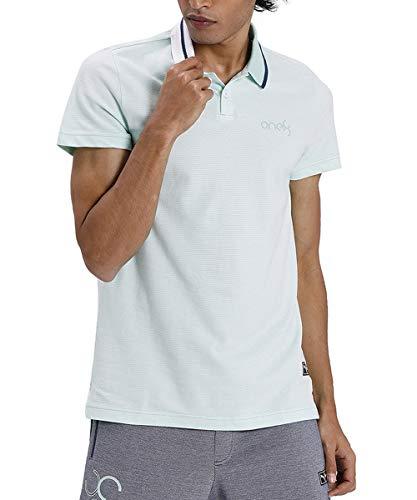 Puma Men's Regular fit Polo Shirt (58256102_Mist Green X-Large)