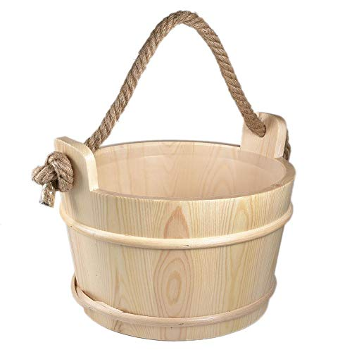 Saunakübel Holzsauna Zubehör Sauna Zubehör Ersatzteile Für Gartensaunas Hochwertiges Sauna Zubehör Sauna Eimer Mit Kelle