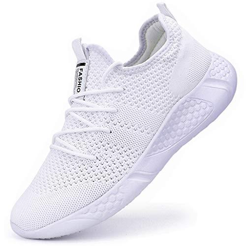 Zapatillas de Running para Hombre Casual Tenis Asfalto Zapatos Deporte Fitness Gym Correr Gimnasio Deportives Transpirables Seguridad Atlético Trekking Bambas Plataform Sneakers