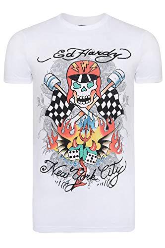 Ed Hardy - Skull-Racer t-Shirt