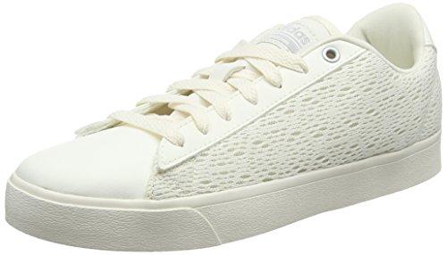 adidas Cloudfoam Daily Qt Clean, Zapatillas Mujer, Blanco (Chalk White/Chalk White/Matte Silver), 36 2/3 EU