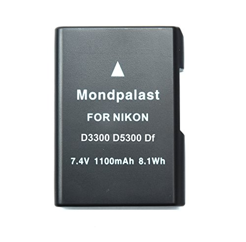 Mondpalast EN-EL14 ENEL14 1100 mah Batería para Nikon Coolpix P7000, P7100, P7700,...