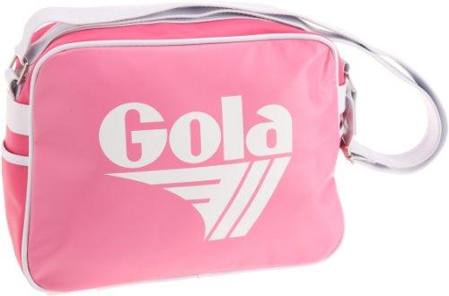 Gola Redford CUB901, Unisex - Erwachsene Henkeltaschen, Pink (Pink/Fuchsia/White), 36x27x12 cm (B x H x T)