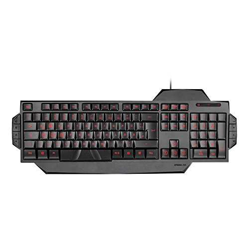 RAPAX Gaming Keyboard, black - UK Layout