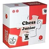 Chess Junior ‒ Schachspiel für Kinder mit Eltern-Kind Anleitung, rot/weiß