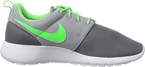 Nike Jungen Roshe One Gs 599728-025 Low-Top, Mehrfarbig (Cool Grey/Green Strike-Wolf Grey-White), 39 EU