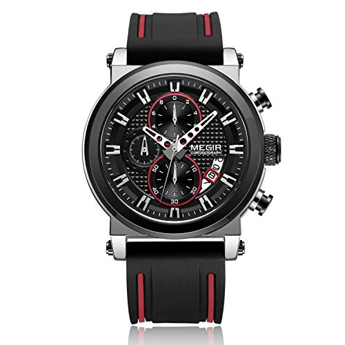 Megir - Herren -Armbanduhr- TT-MG-2100