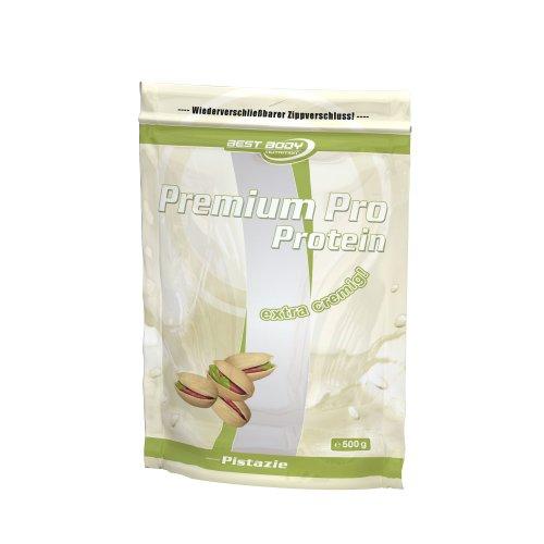 Best Body Nutrition Premium Pro Protein Pistazie , 1er Pack (1 x 500 g Beutel)