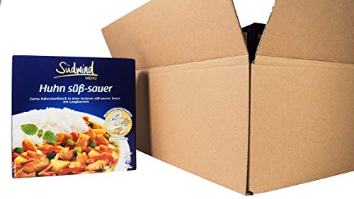 Paket Große Auswahl 11+1 gratis - verschiedene Fertiggerichte für die Mikrowelle / Wasserbad - Südwind Lebensmittel