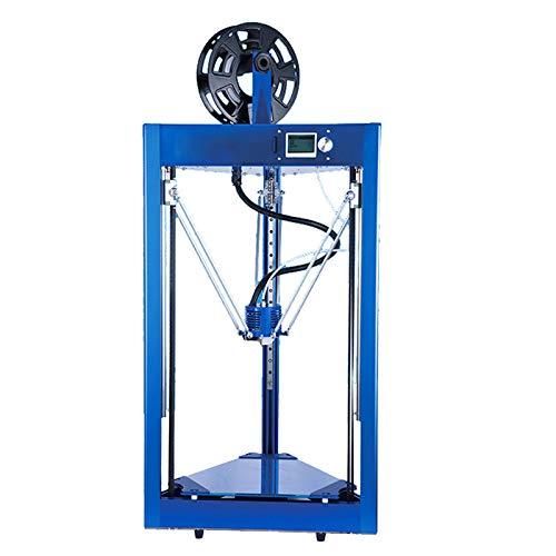 Knoijijuo Imprimante de Bureau 3D Edim Delta Printer Maker Education Accueil imprimante 3D