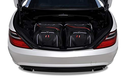 KJUST Reisetaschen 2 STK Set kompatibel mit Mercedes-Benz SLK R172 2011 - 2015