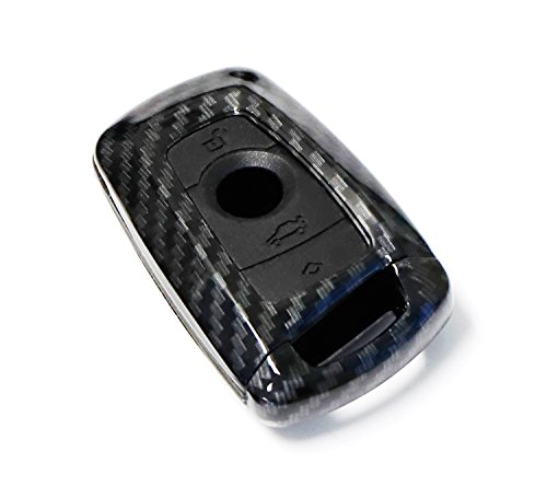 Yoursme Remote Key Fob Shell Cover Protective Hard Carbon Fiber Case Protection for Mercedes Benz