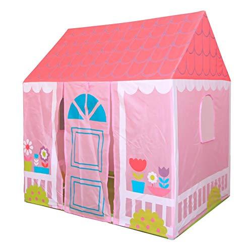 Hongzer Casa de Juguete para niños, Tienda de Juguetes Plegable para niños en Interiores y Exteriores Casa de Jardin Casa de Juegos portátil para niños y niñas Juegos Divertidos