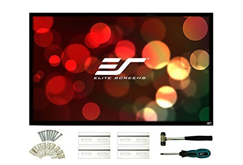 Elite Screens ezFrame 2 Series, 144-inch Diagonal 16:10, Fixed Frame Home Theater Projection Screen, Model: R144WX2