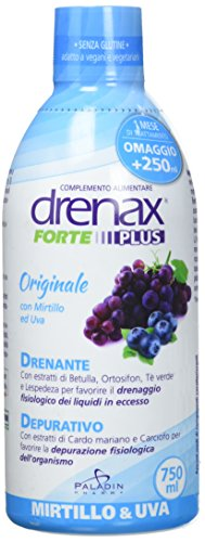 DRENAX FORTE MIRTILLO 750ML - Integratore drenante