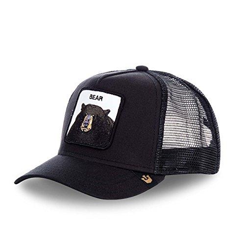 Goorin Bros Baseball Cap Trucker Gr. Einheitsgröße, Blackbear