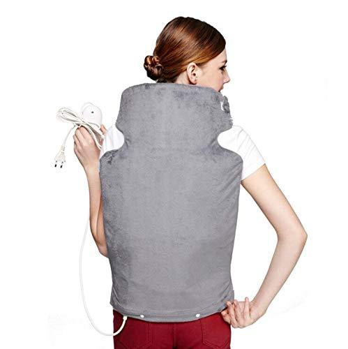 YUXINCAI Elektrische Heizkissen Nacken Schulter Wärmekompression Lindern Rückenschmerzen Elektrische Heizweste...