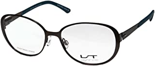 Lightec By Morel 7010l Mens/Womens Butterfly Flexible Hinges Stainless Steel Premium Trendy Eyeglasses/Spectacles