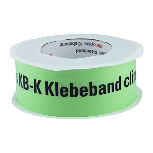 Climoplus Klebeband KB-K 60mm 25m - zur Verklebung von Dampfsperrfolien, Dampfbremsfolien, Dampfbremse, Dampfsperre