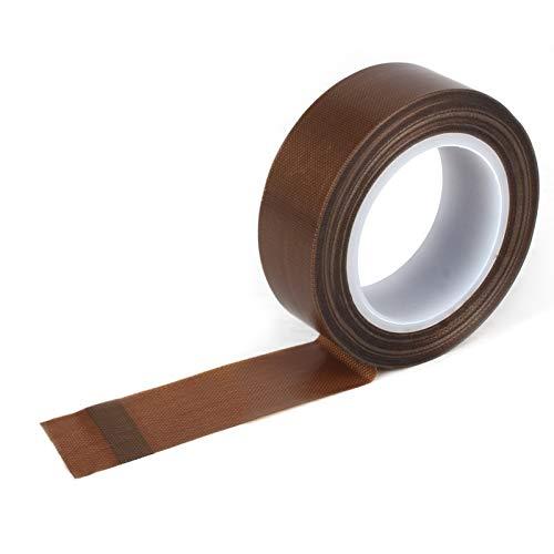 Teflon-Klebeband für Vakuumiergerät, Vakuumierer. Geeignet für fast alle Vakuumiergerät-Modelle und für industriellere Zwecke (25 mm x 10 m)