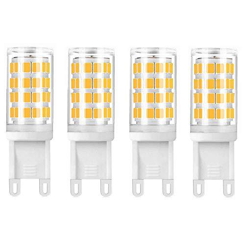 Bonlux Lampadine LED G9 Bianco Caldo 3000K, Lampadine Alogene G9 10W 15W 18W 20W Sostituzioni,Lampadine a Capsula G9 per Lampadario,Lampada da Tavolo(Non dimmerabile, 5pz)