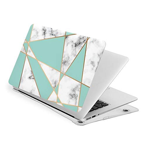 Marble Texture MacBook Pro 15 Inch Case 2019 2018 2017 2016 Release A1990 A1707,Plastic Hard Case Shell Cover for Apple MacBook Pro 15 Inch with Touch Bar