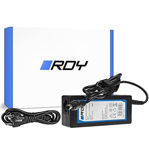 RDY 65W 20V 3.25A Cargador para Portátil LENOVO B560 B570 G530 G550 G560 G575 G580 G580a G585 IdeaPad Z560 Z570 P580 Ordenador Fuente de Alimentación Computadora Portátil Adaptador Connector:5.5x2.5mm