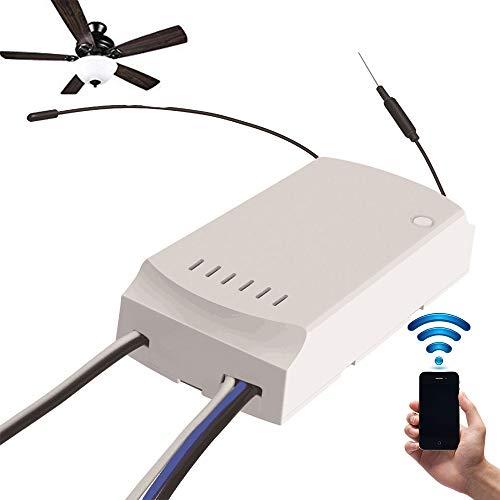 SONOFF IFan03 LED in WiFi Smart APP-Fernbedienung konvertieren ON/Off, AC100-240V 50 / 60Hz Deckenventilator und Lichtsteuerung